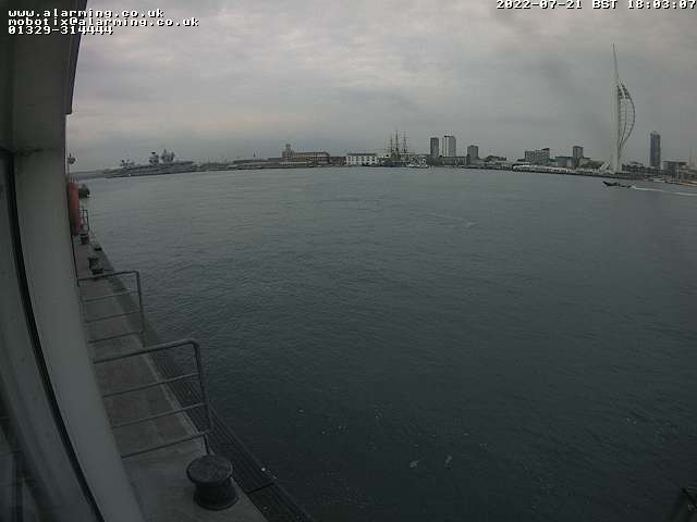 Gosport to Portsmouth Passenger Ferry Live Webcam